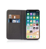 Geeek Smart Prestige Wallet Case voor iPhone X / XS Zwart
