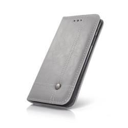Geeek Smart Prestige Wallet Case für iPhone X Grau