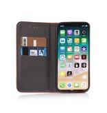 Geeek Smart Prestige Wallet Case voor iPhone X / XS Rood