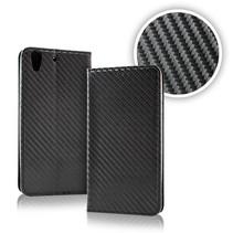 Smart Carbon Wallet Case für Samsung S9 Schwarz