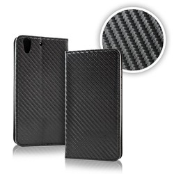 Geeek Smart Carbon Wallet Case voor Samsung S9 Zwart