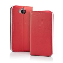 Smart Magnet Wallet Hülle für Samsung S9 Rot