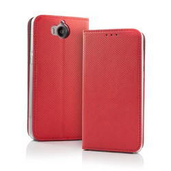 Geeek Smart Magnet Wallet Case voor Samsung S9 Rood