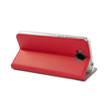 Geeek Smart Magnet Wallet Case voor Samsung S9 Rood