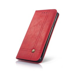 Geeek Smart Prestige Wallet Case for Samsung S8 Red
