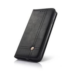 Geeek Smart Prestige Wallet Case voor Samsung S8 Plus Zwart