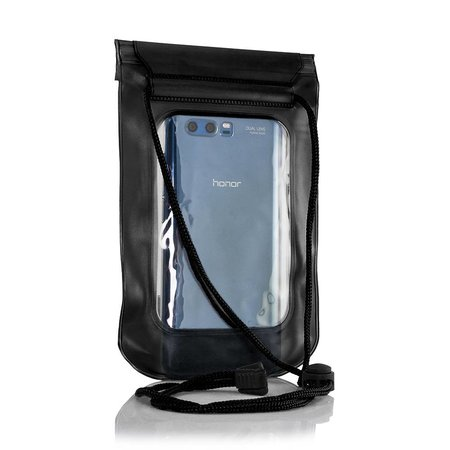 "Geeek Universele Waterdichte Waterproof Case 5.5""  Zwart"