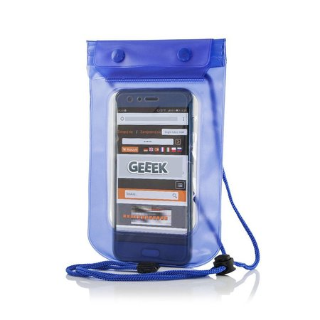 "Geeek Universal Waterproof Case 5.5 ""Blue"