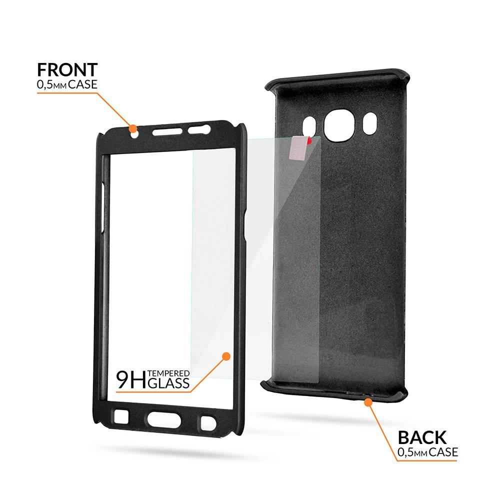 Samsung S9 Full Body 360 Super Thin Case Cover Hoesje Zwart