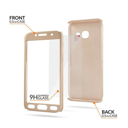 Geeek Samsung S9 Plus Full Body 360 Super Thin Case Cover