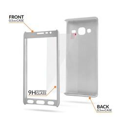 Geeek Samsung S9 Plus Full Body 360 Super Thin Case Cover Hoesje