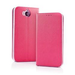 Geeek Smart Carbon Wallet Hülle für Samsung S9 Pink