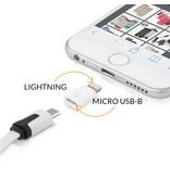 Geeek Lightning naar Micro USB converter voor Apple Producten