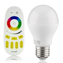RGBW 6W LED Bulb with Remote