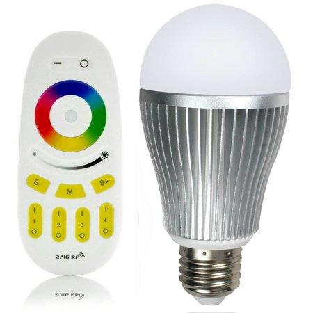 Mi Light RGBW 9W LED Lamp met Afstandsbediening