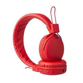 Hoofdtelefoon On-Ear Bluetooth 1.00 m Rood Hoofdtelefoon On-Ear Bluetooth 1.00 m Rood