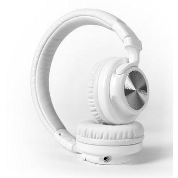 Hoofdtelefoon On-Ear 1.20 m Wit Hoofdtelefoon On-Ear 1.20 m Wit