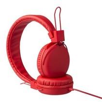 Hoofdtelefoon On-Ear 1.20 m Rood