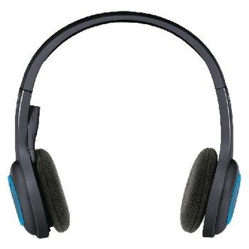Logitech Headset ANC (Active Noise Cancelling) / Opvouwbaar On-Ear Bluetooth Ingebouwde Microfoon Zwart