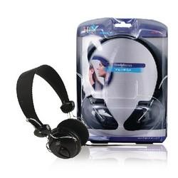 HQ Hoofdtelefoon On-Ear 3.5 mm 1.5 m Zwart