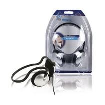 Kopfhörer On-Ear 3,5 mm 2,1 m Silber / Schwarz