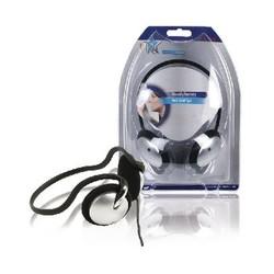 HQ Hoofdtelefoon On-Ear 3.5 mm 2.1 m Zilver/Zwart
