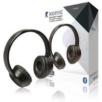 Headset On-Ear Bluetooth Eingebautes Mikrofon Schwarz