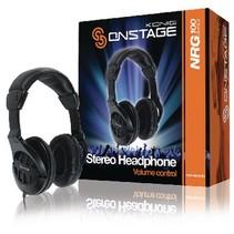 Headphones Over-Ear 3.5 mm 2.5 m Black
