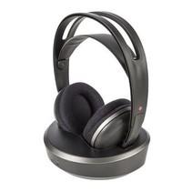 Kopfhörer Wireless 3,5 mm RF Schwarz / Silber