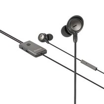 Headset ANC (Active Noise Cancelling) In-Ear 3.5 mm Bedraad Ingebouwde Microfoon 1.2 m Antraciet/Zwart
