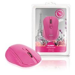 Sweex Drahtlose Maus Büro model 3 Knopfen Rosa