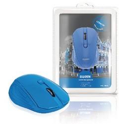 Sweex Drahtlose Maus Büro model 3 Knopfen Blau