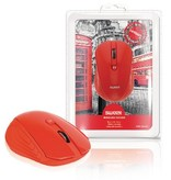 Sweex Draadloze Muis Bureaumodel 3 Knoppen Rood