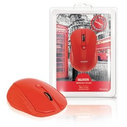 Sweex Drahtlose Maus Büro model 3 Knopfen Rot