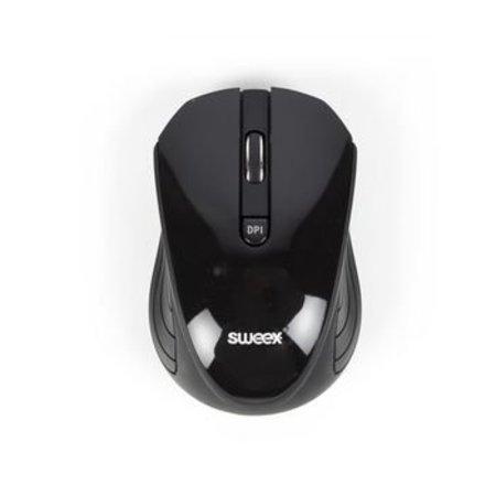 Sweex Draadloze Muis Bureaumodel 3 Knoppen Zwart