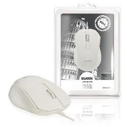 Sweex Maus Bedraht Büro Model 3 Knopfen Weiß