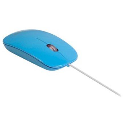 Sweex Bedrade Muis Bureaumodel 3 Knoppen Blauw