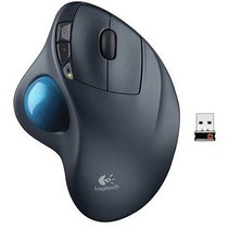 Wireless Mouse 4 Buttons Black