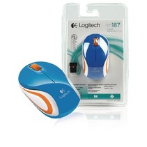 Wireless Travel Mouse 3 Buttons Blue