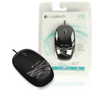 Wired Desktop Mouse 3 Buttons Black