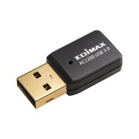 Edimax Draadloze USB-Adapter AC1200 Wi-Fi Zwart