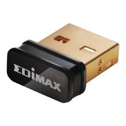 Edimax Wireless USB Adapter N150 2.4 GHz Black
