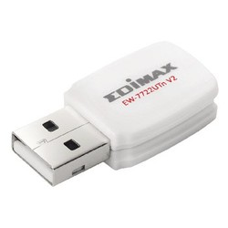 Edimax Drahtloser  USB-Adapter N300 2.4 GHz Weiß