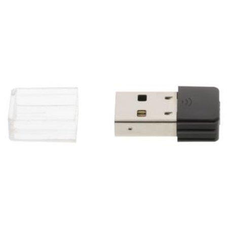 König Draadloze USB-Adapter N150 2.4 GHz Wi-Fi Zwart