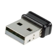 Drahtloser  USB-Adapter N150 2.4 GHz Schwarz/Metaal