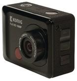 König Full HD Action Cam 1080p Unterwassergehäuse Schwarz