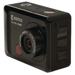 König Full HD Action Cam 1080p Waterdichte Behuizing Zwart
