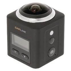 Camlink Full HD Action Cam 360 ° 2K Wi-Fi / Microfoon Zwart