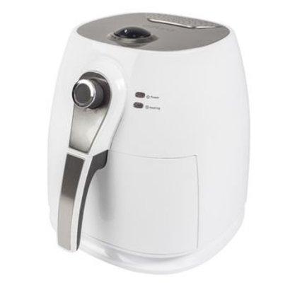 AzurA Warmluft Fritteuse 1400 W 3 l Weiß