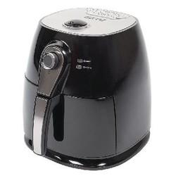 AzurA Hot Air Fryer 1400 W 3 l Zwart
